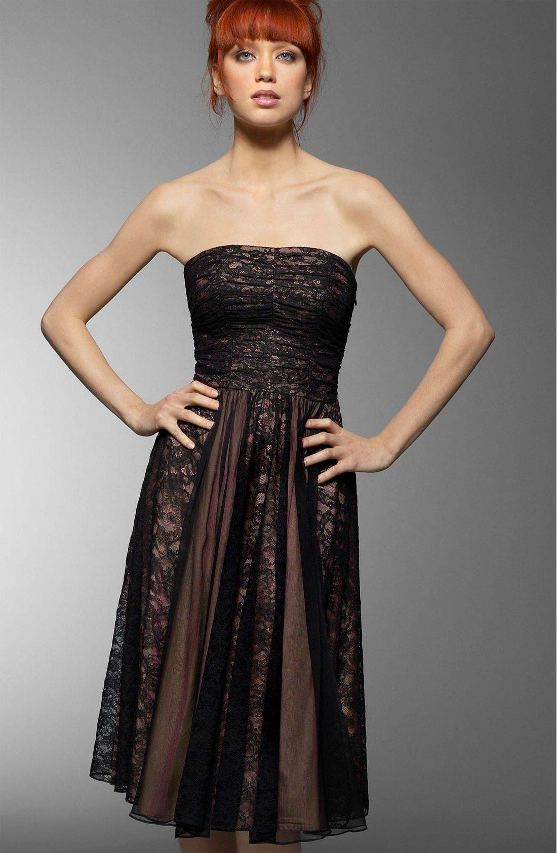 Alternate Image 1 Selected - Nanette Lepore Chantilly Lace Dress