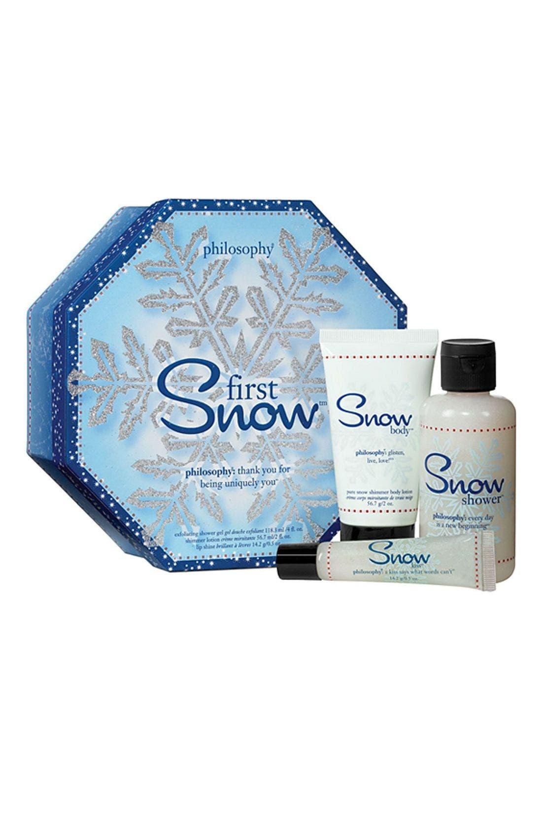 Main Image - philosophy 'first snow' set