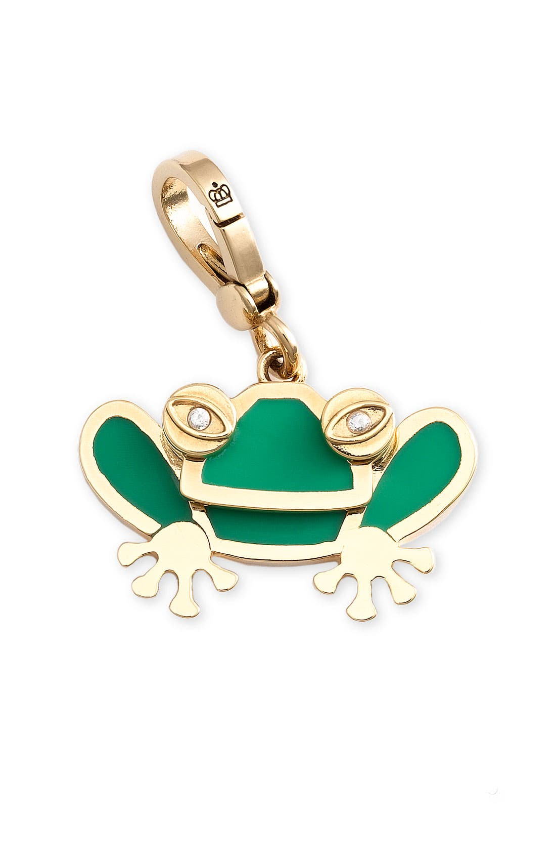 Main Image - Juicy Couture Enamel Frog Charm