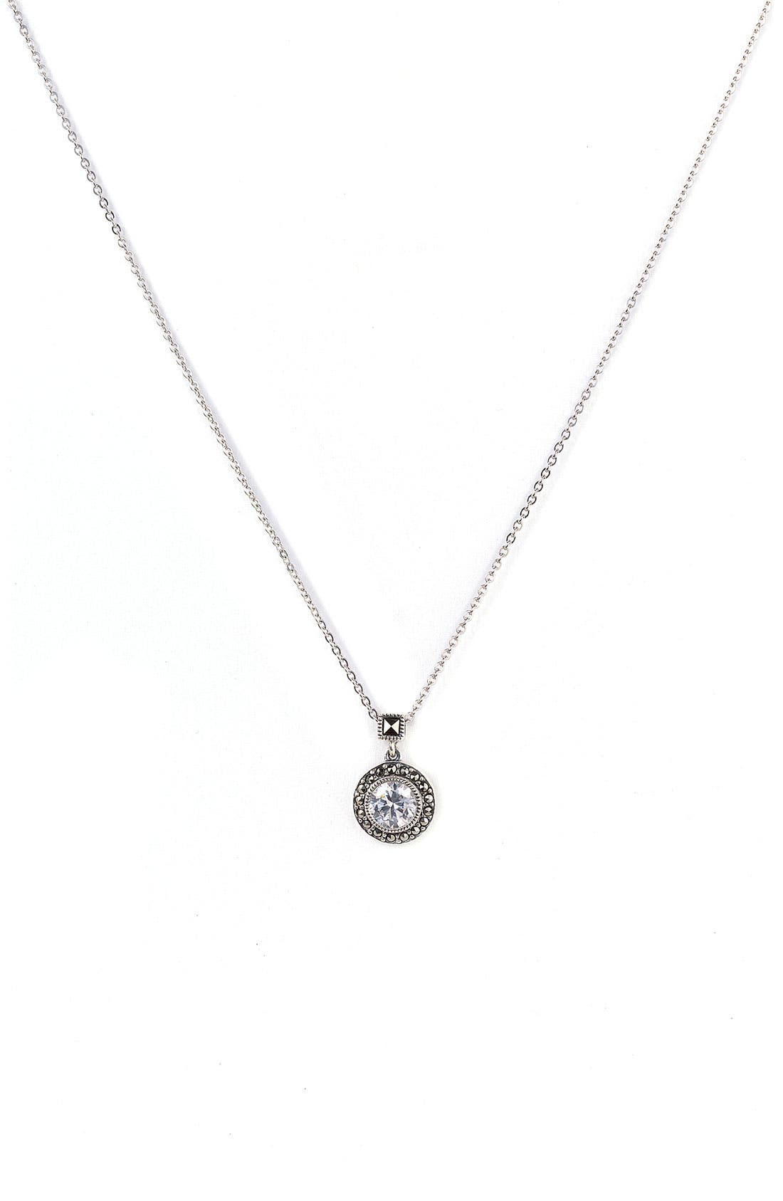 Alternate Image 1 Selected - Judith Jack 'Small Moonshadow' Necklace