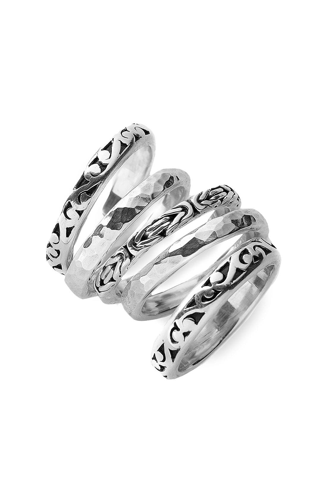 Alternate Image 1 Selected - Lois Hill Set of Five Stackable Rings