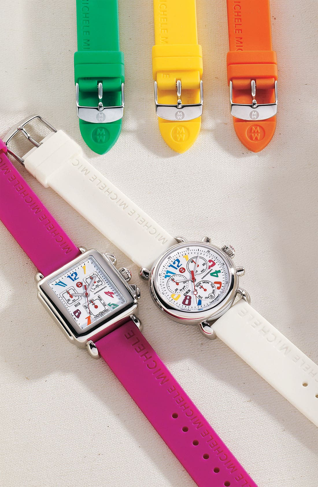 Alternate Image 2  - MICHELE 'Deco Carousel' Watch Case