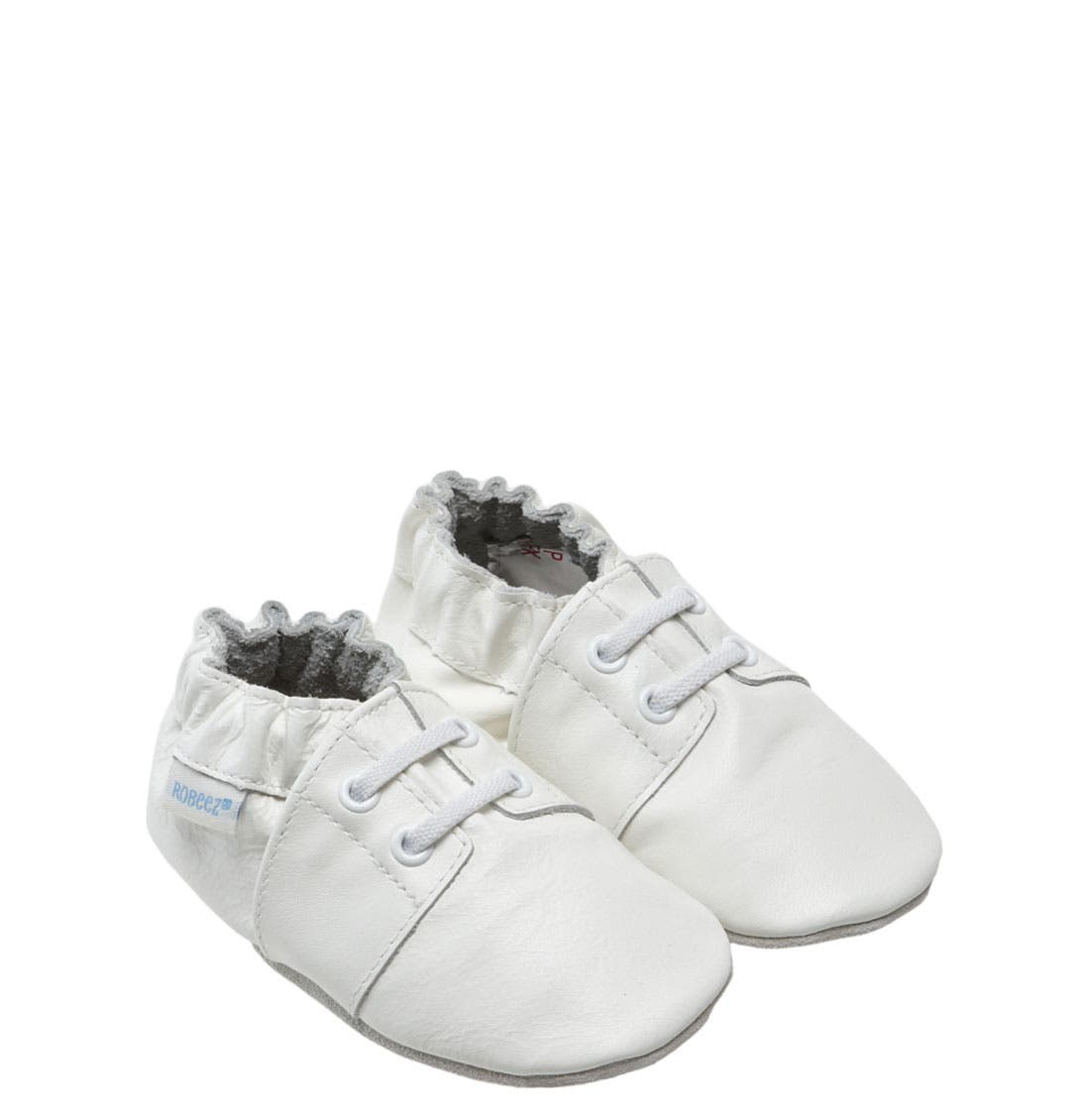 Alternate Image 1 Selected - Robeez® 'Special Occasion' Slip-On (Baby & Walker)