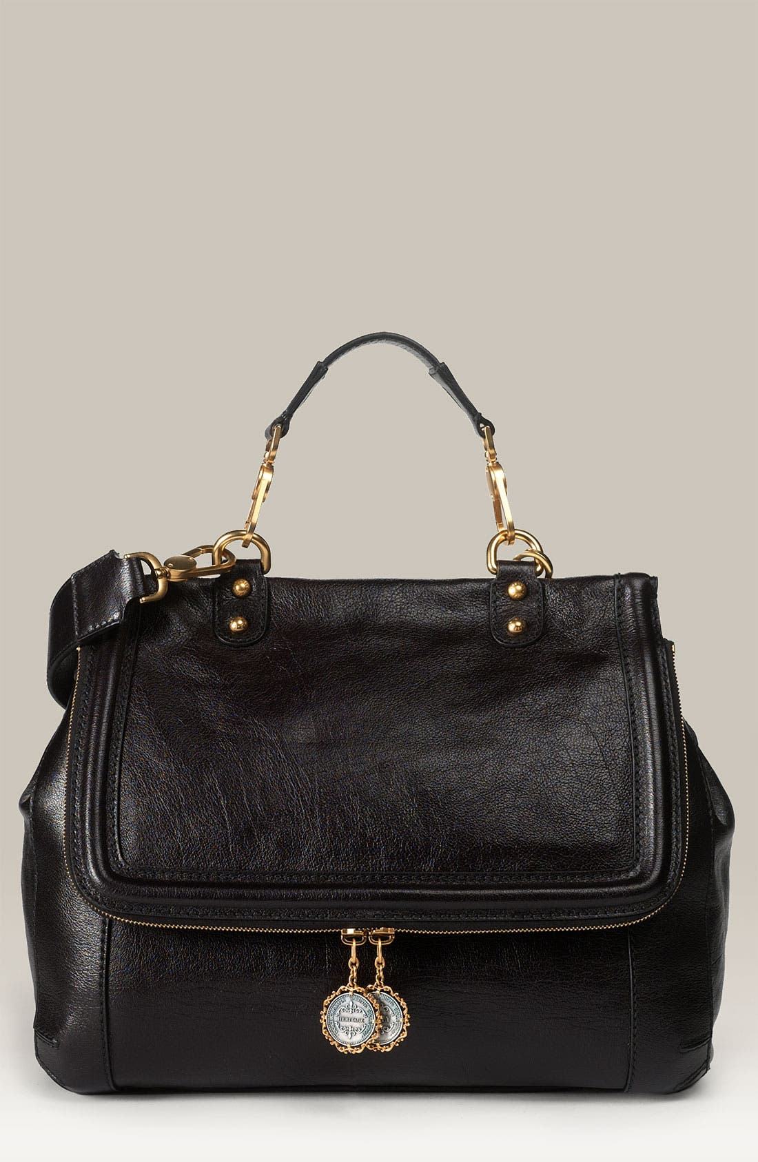 Alternate Image 1 Selected - Dolce&Gabbana 'Miss Rose' Buffalo Leather Satchel