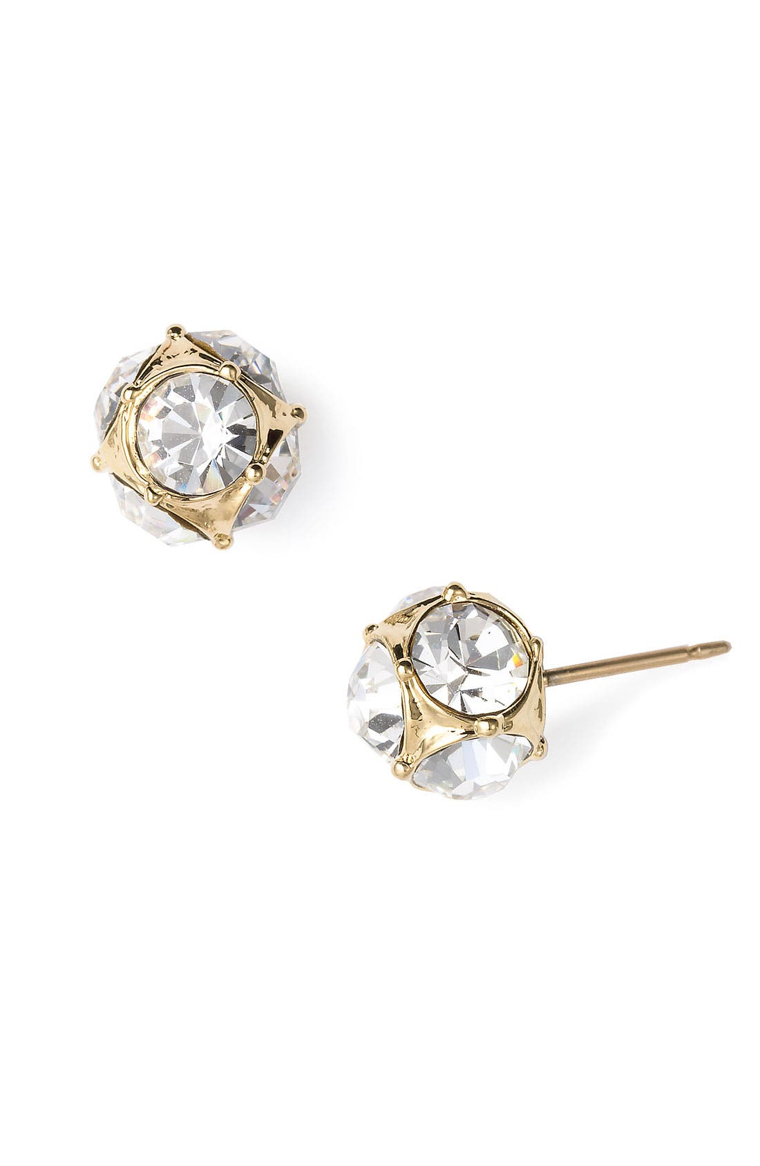 Main Image - kate spade new york glass stone stud earrings