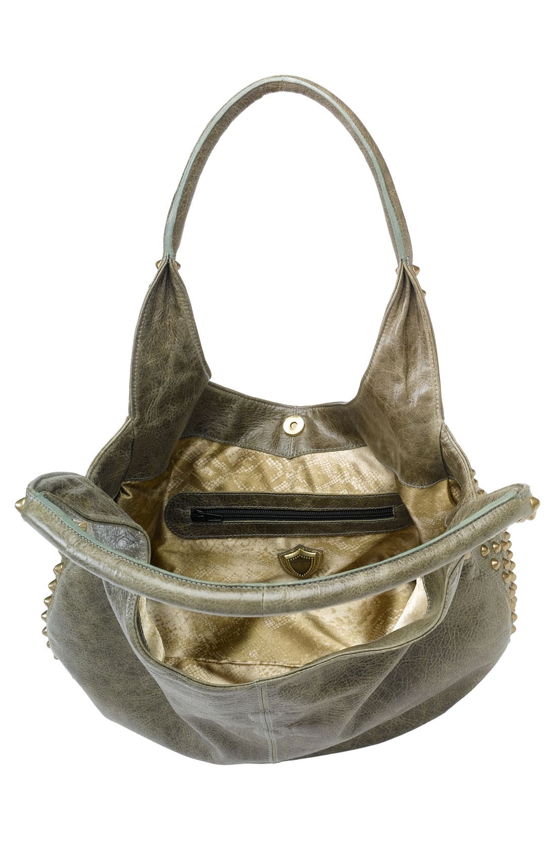 Alternate Image 3  - Cassandra LA 'Naho' Tassel Flap Leather Hobo