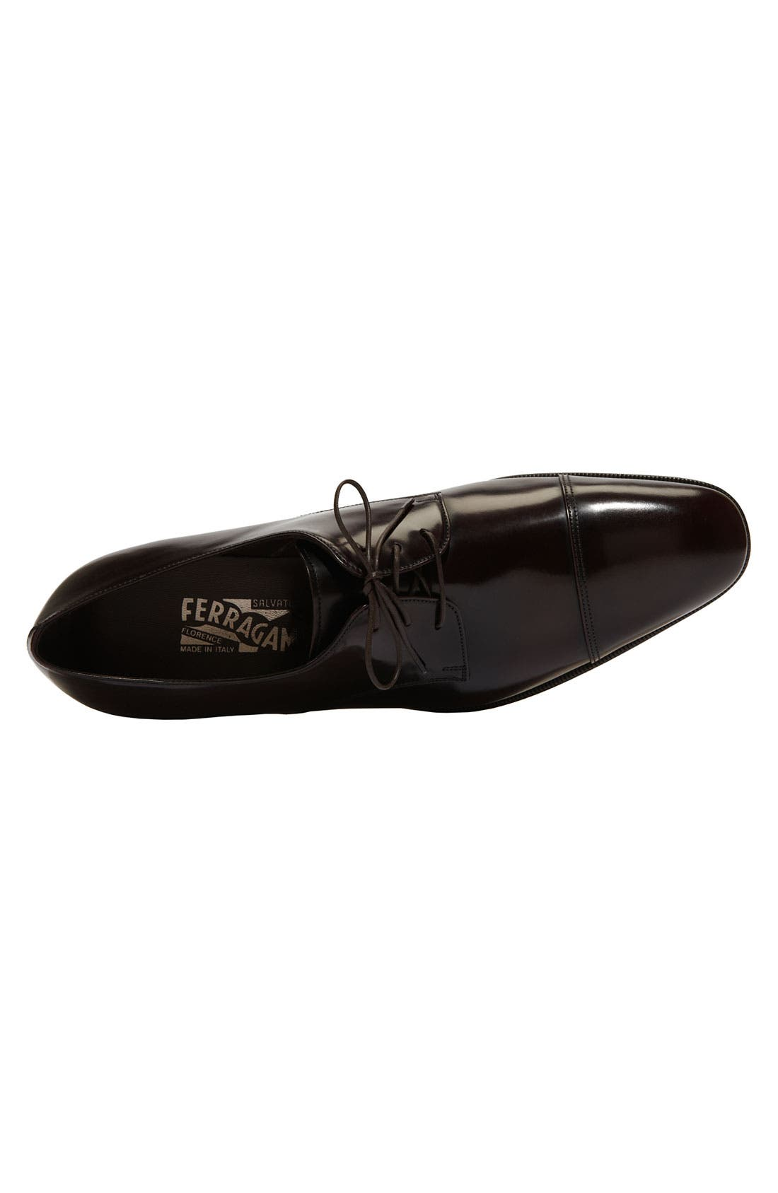 Alternate Image 3  - Salvatore Ferragamo 'Faraone' Cap Toe Oxford (Men)