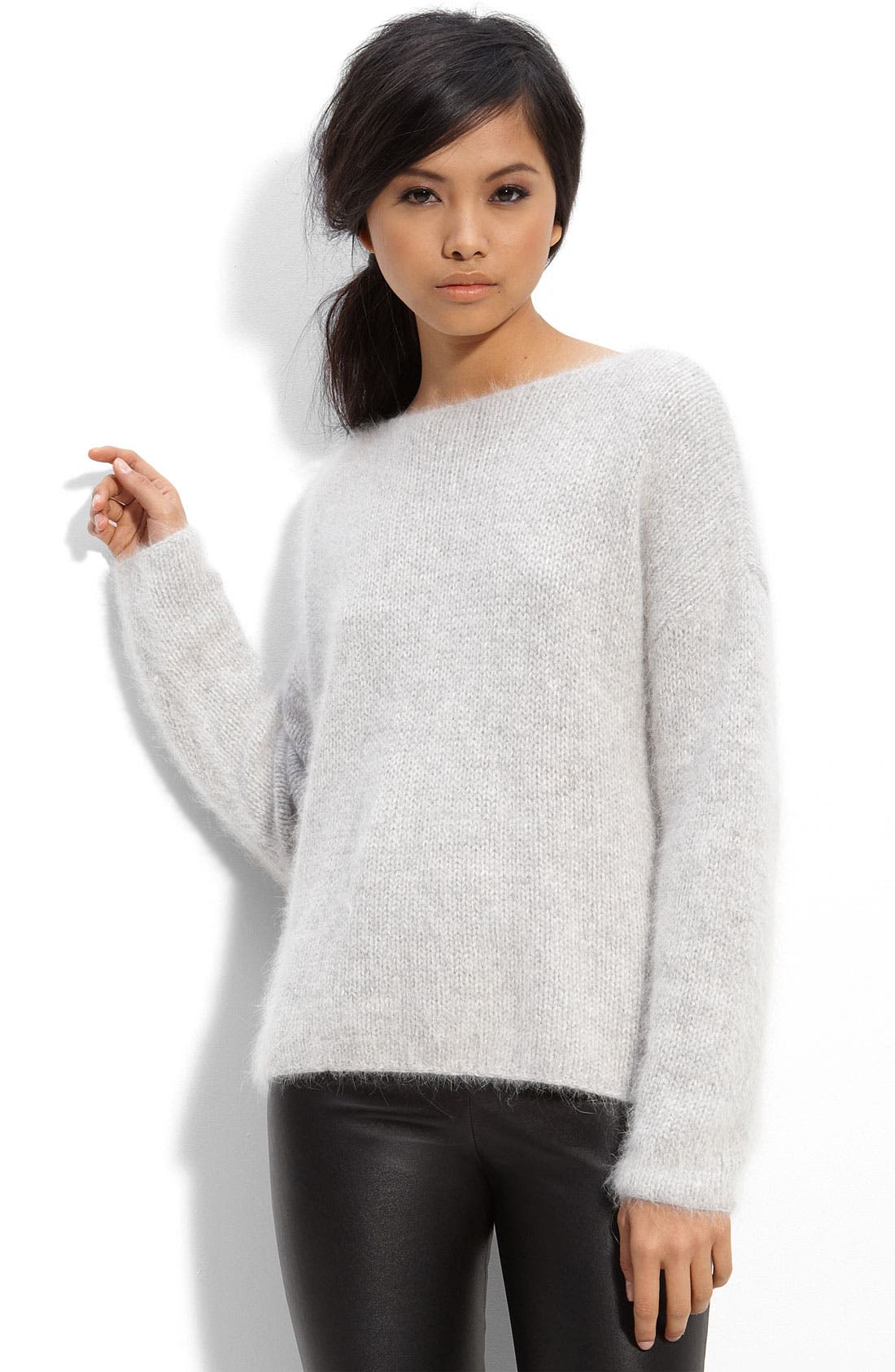 Alternate Image 1 Selected - Leith 'Fuzz' Sweater