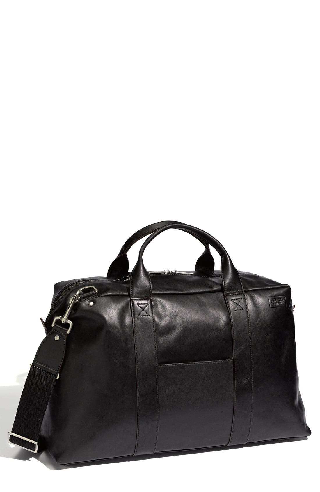 Alternate Image 1 Selected - Jack Spade 'Wayne' Leather Duffel Bag