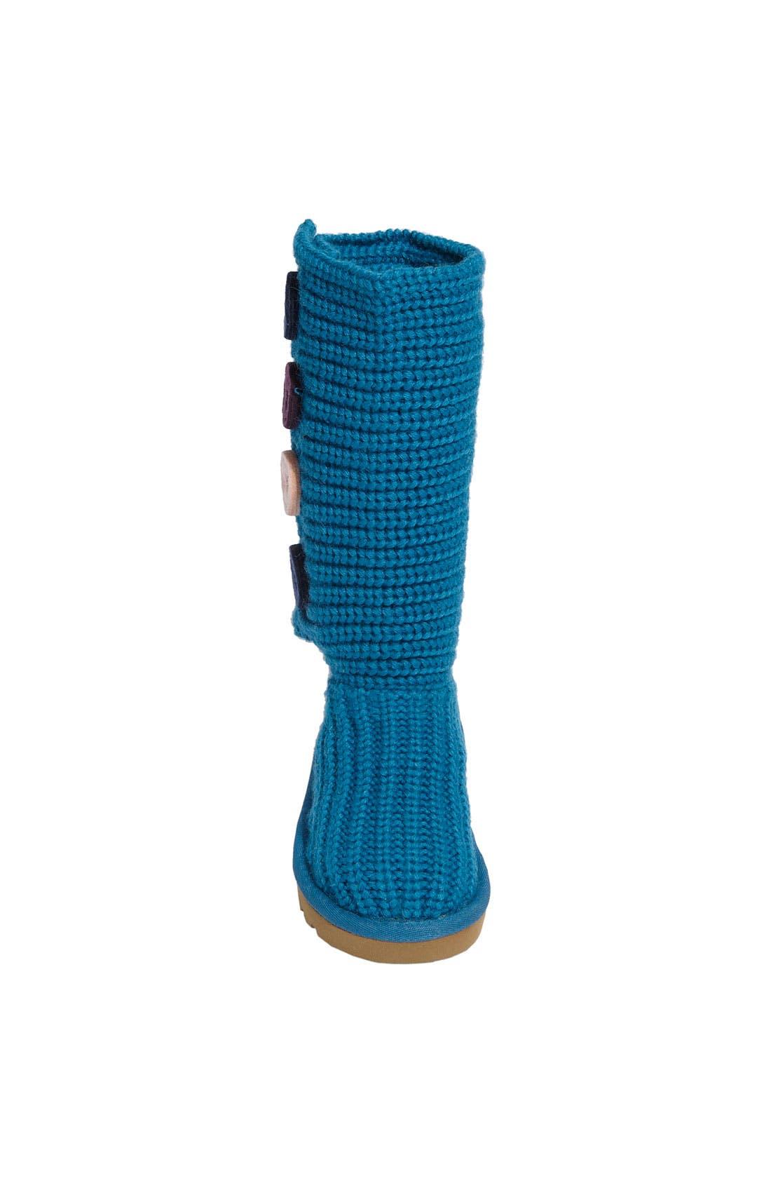 Alternate Image 3  - UGG® Australia 'Cardy II' Crochet Boot (Toddler, Little Kid & Big Kid)