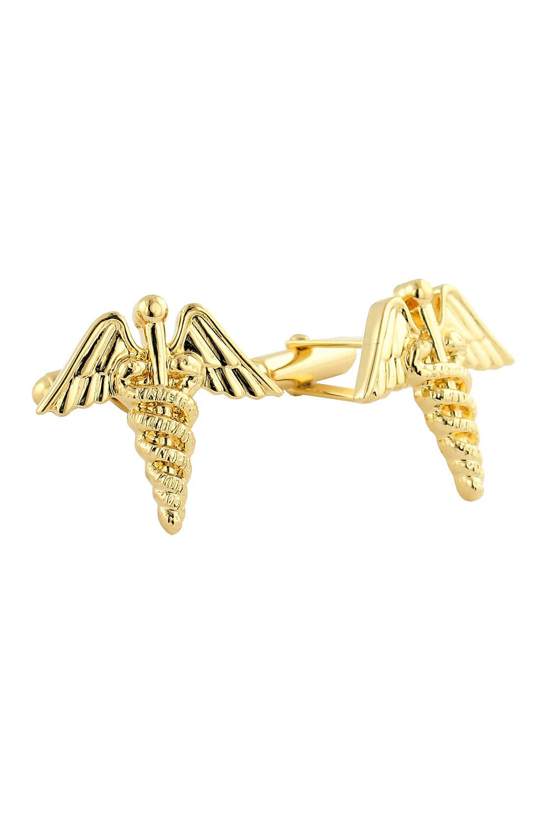 DAVID DONAHUE Medical Caduceus Cuff Links