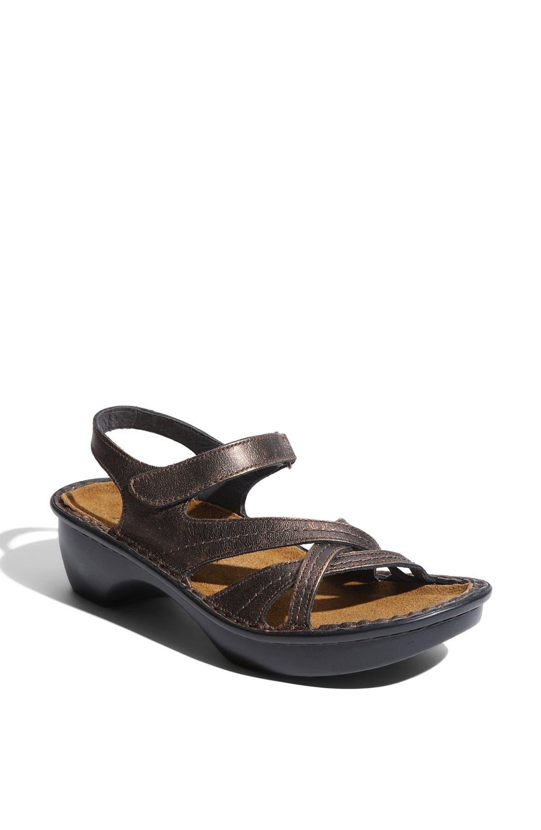 'Paris' Sandal,                         Main,                         color, Burnt Copper