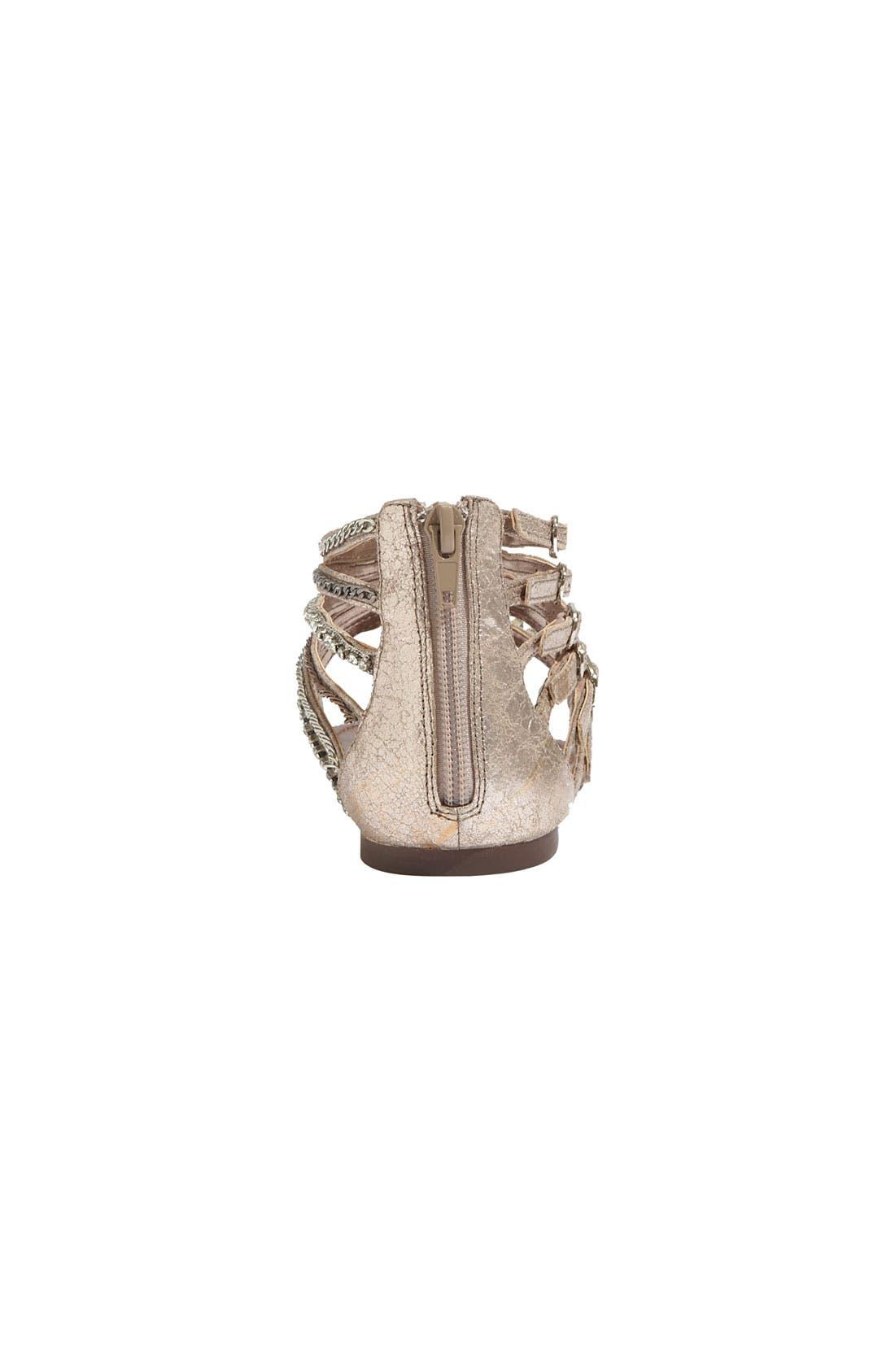 Alternate Image 4  - Steve Madden 'Simple' Leather Sandal