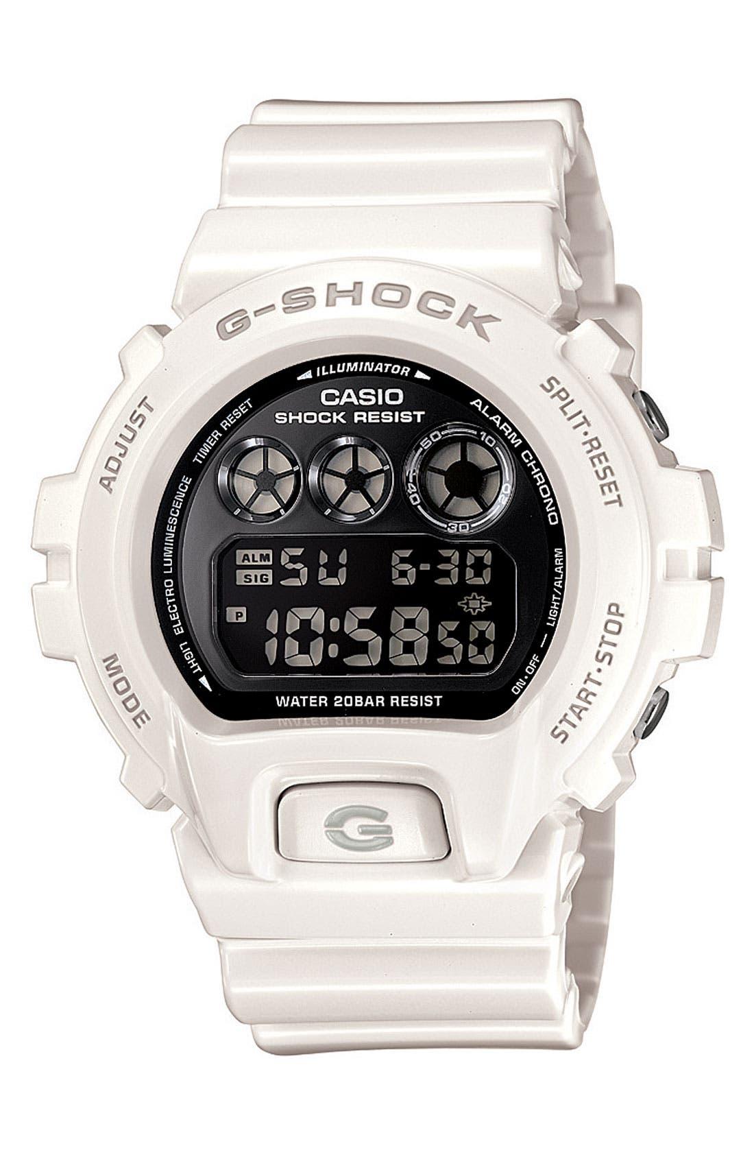 Main Image - G-Shock 'Mirror Metallic' Digital Watch, 50mm x 45mm