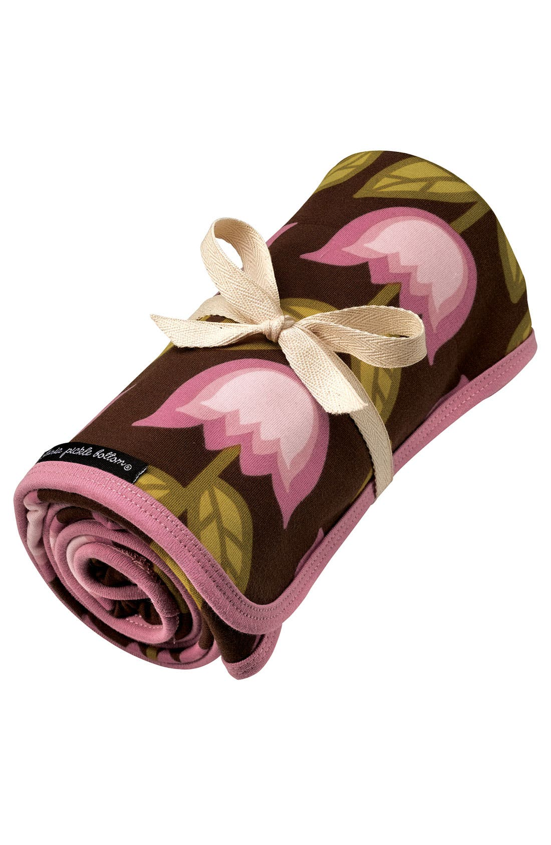 Alternate Image 1 Selected - Petunia Pickle Bottom Organic Cotton Stroller Blanket (Infant)