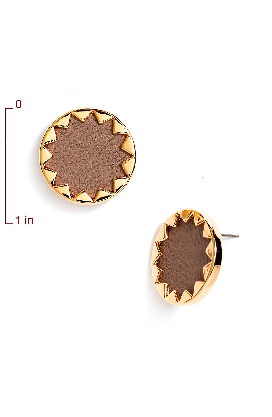 Alternate Image 2  - House of Harlow 1960 Sunburst Button Earrings