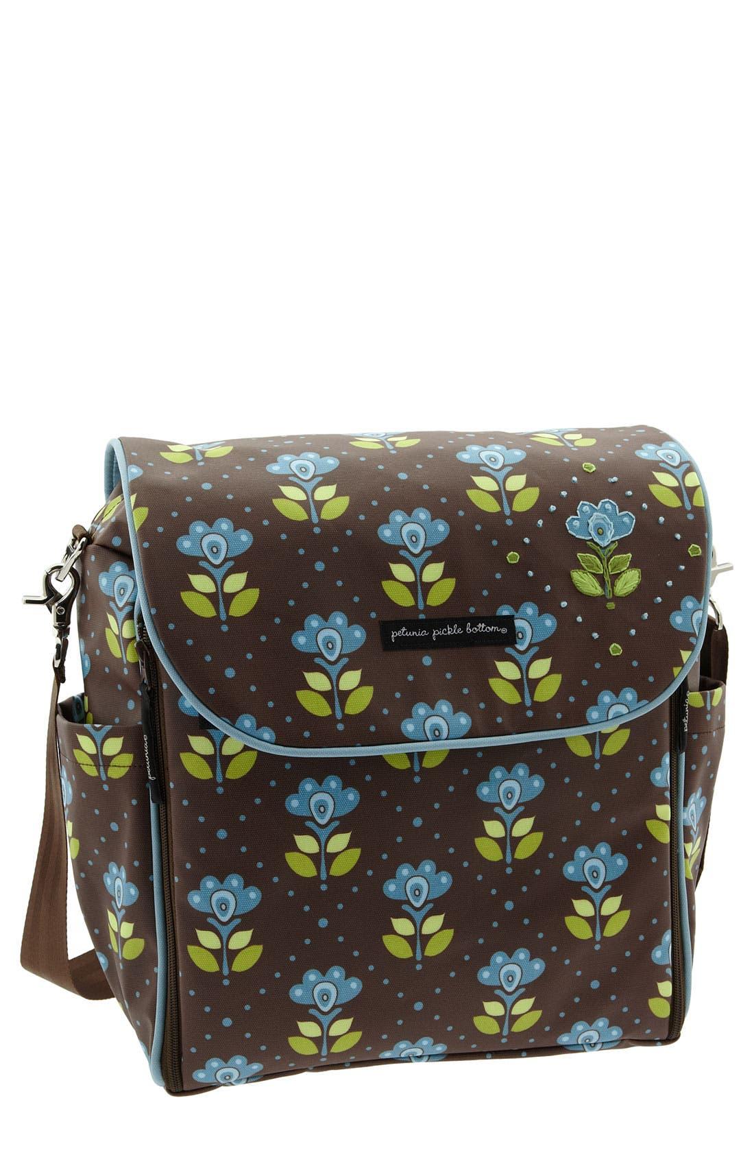 Alternate Image 1 Selected - Petunia Pickle Bottom 'Brocade' Diaper Bag