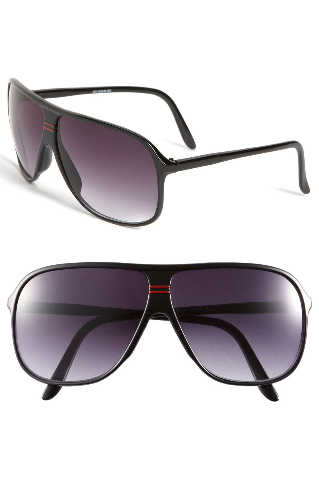 Main Image - KW 'Perry' Aviator Sunglasses