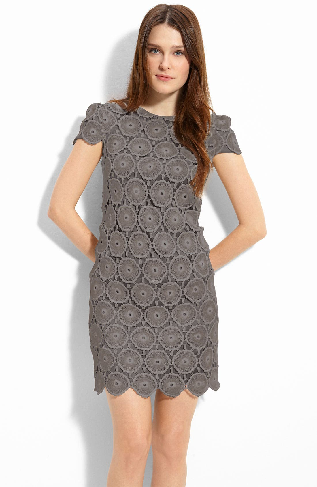 Alternate Image 1 Selected - Suzi Chin for Maggy Boutique Lace Shift Dress