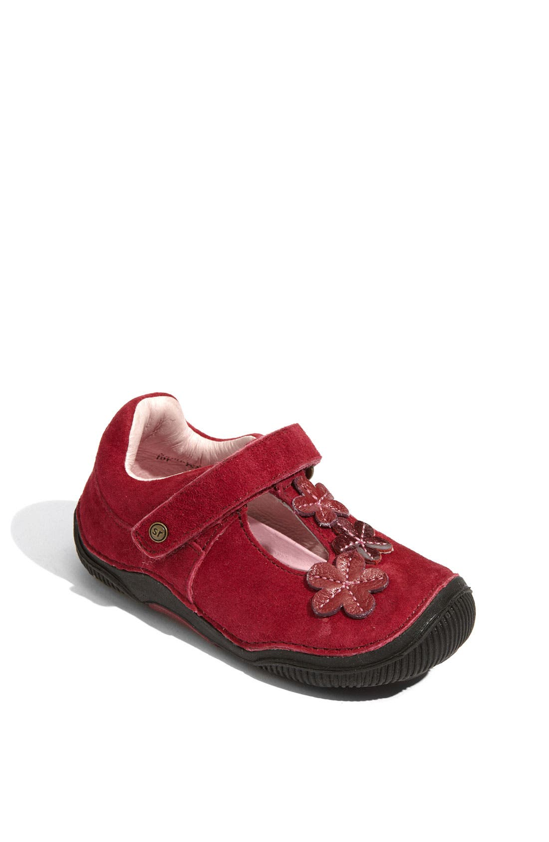 Alternate Image 1 Selected - Stride Rite 'Skyler' T-Strap Mary Jane (Baby, Walker & Toddler)