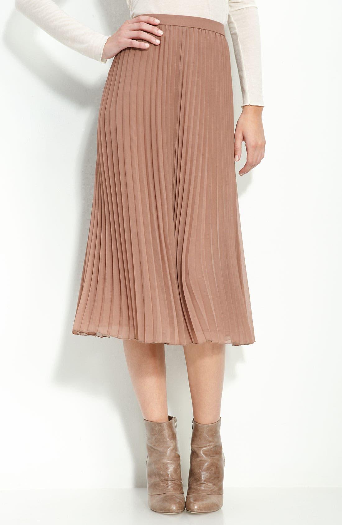 Alternate Image 1 Selected - Trouvé Pleated Ballet Skirt