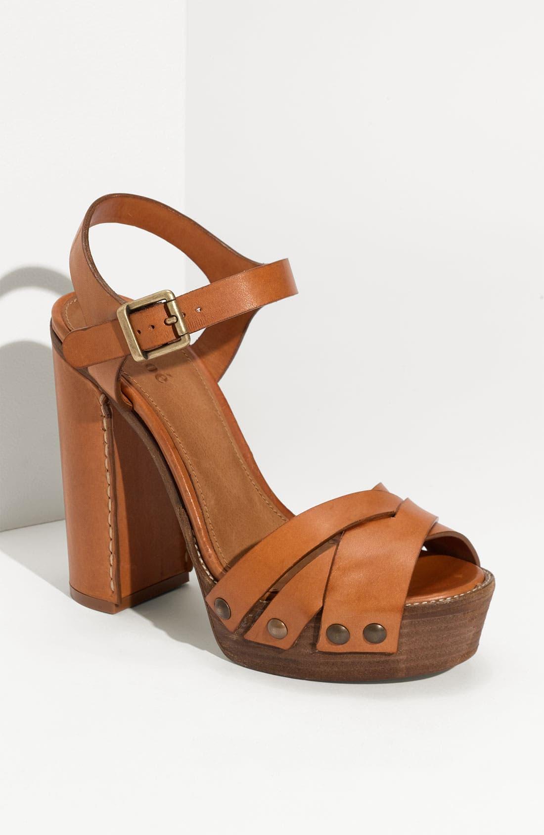 Main Image - Chloé Platform Sandal