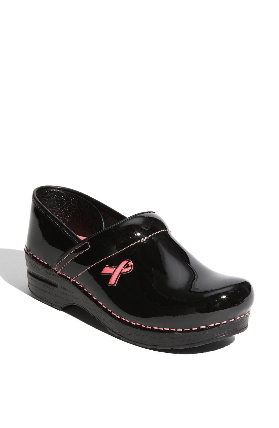 Alternate Image 1 Selected - Dansko 'Professional - Pink Ribbon' Clog