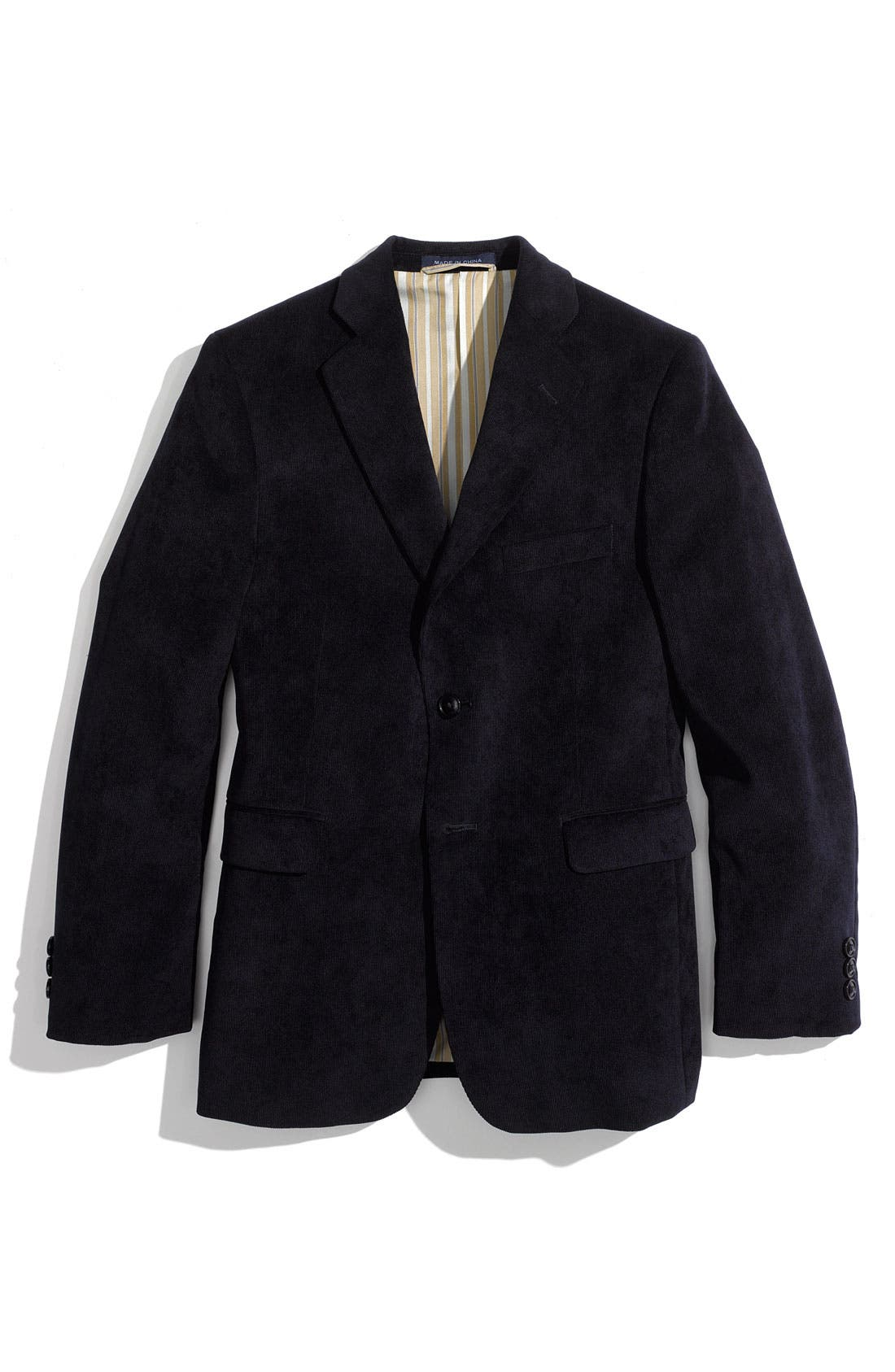Main Image - Joseph Abboud Corduroy Sportcoat (Big Boys)