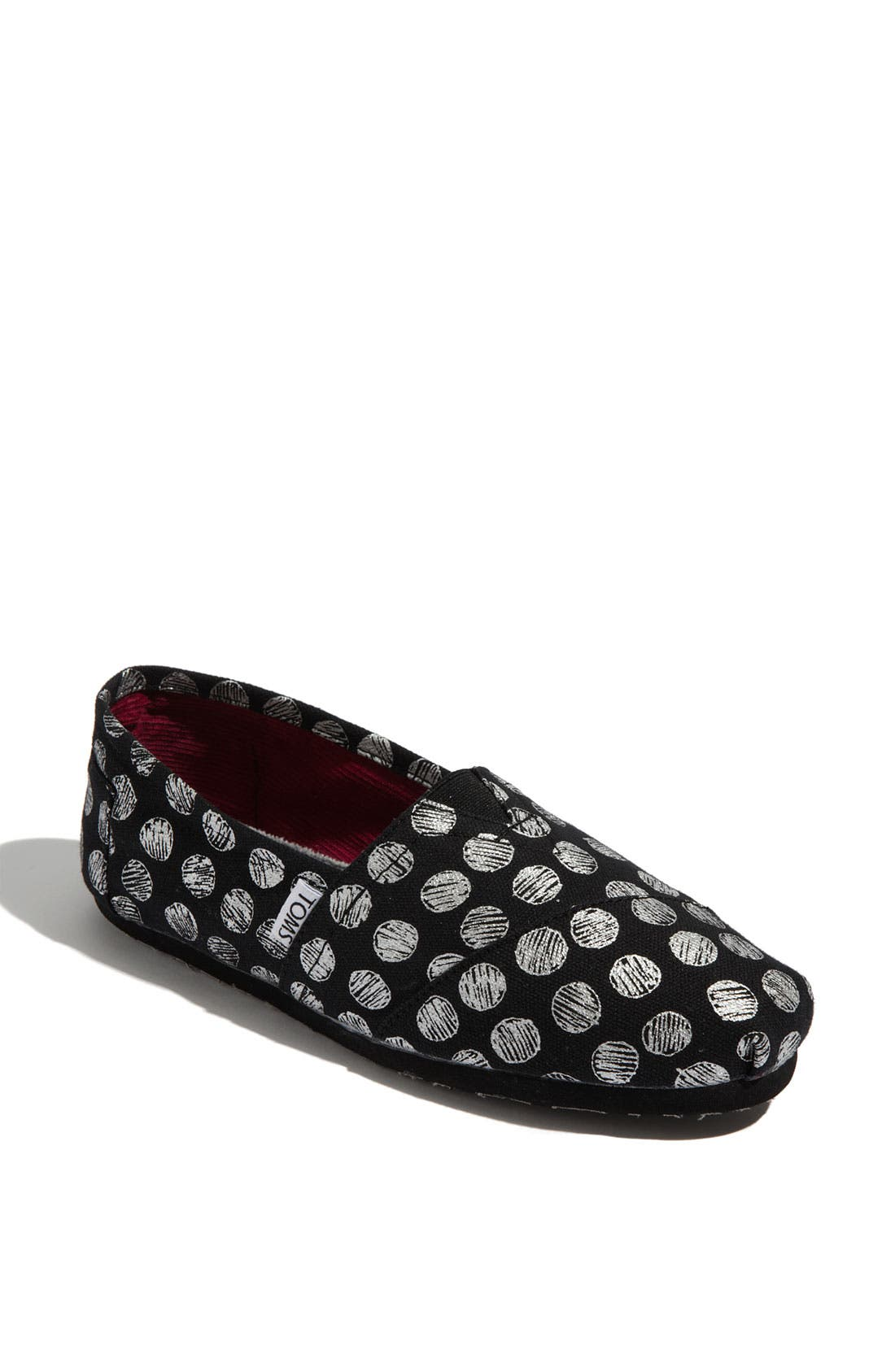 Alternate Image 1 Selected - TOMS 'Classic - Hand Drawn Dots' Slip-On (Women)