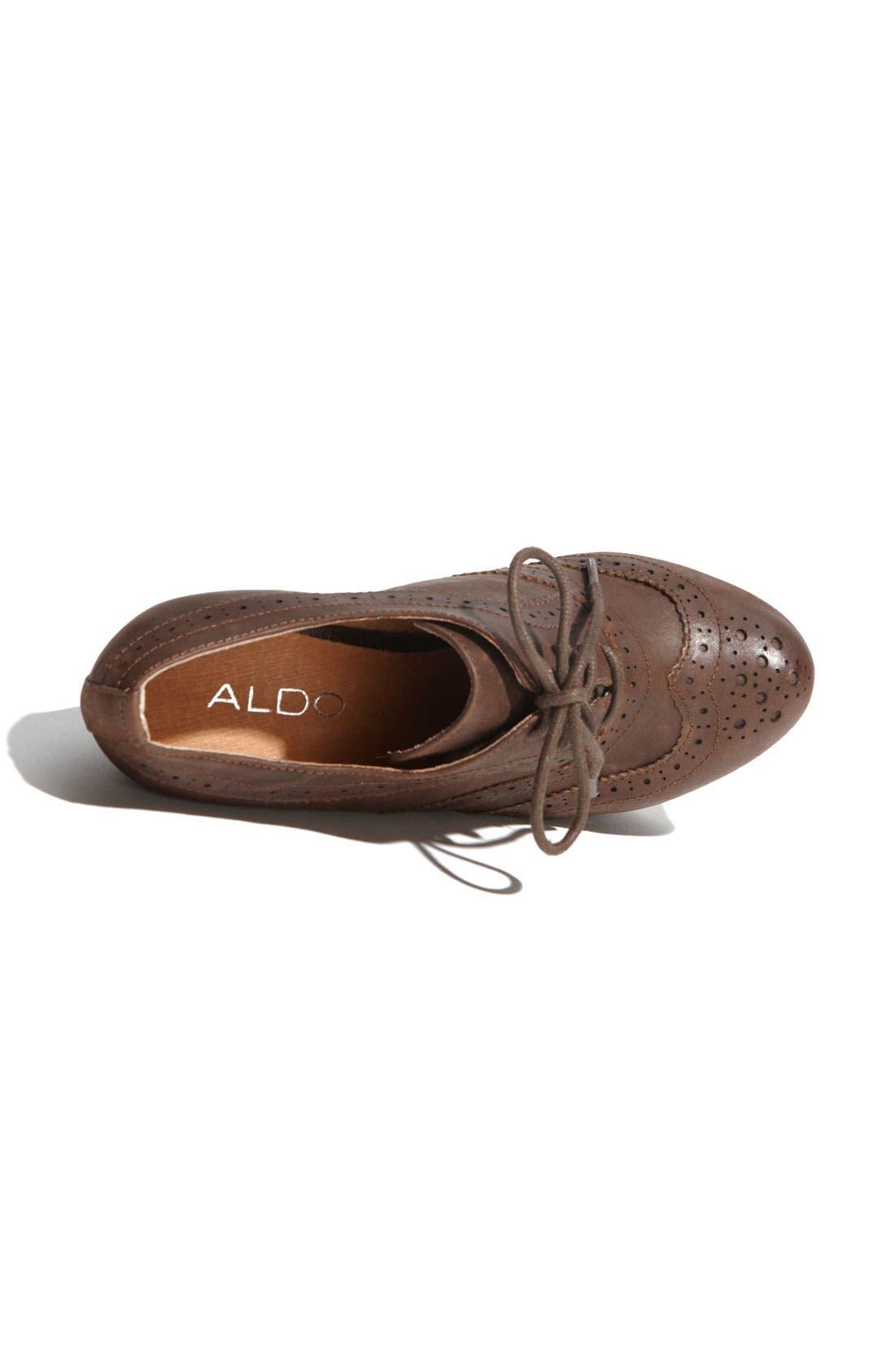 Alternate Image 3  - ALDO 'Horvath' Oxford Wedge