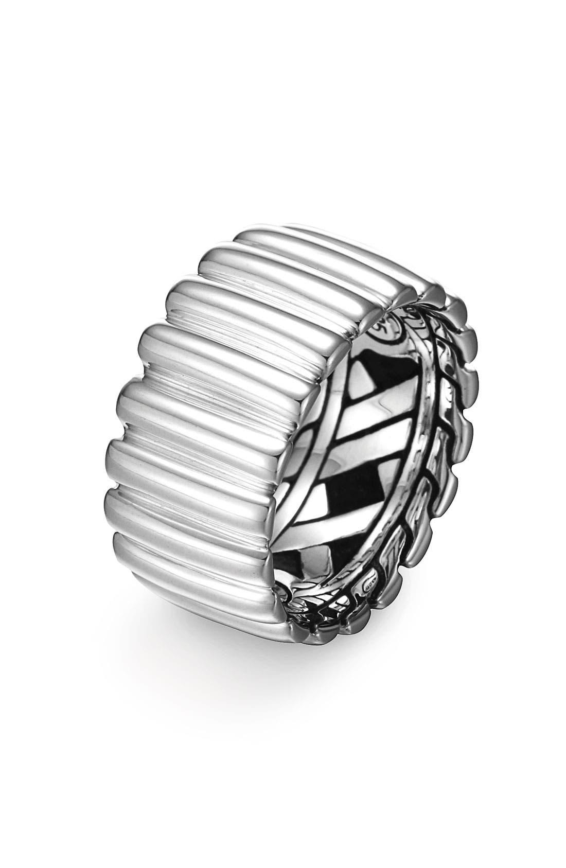 Alternate Image 1 Selected - John Hardy 'Bedeg' Wide Band Ring