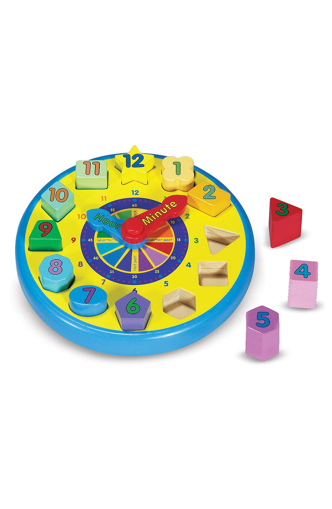 Main Image - Melissa & Doug Shape Sorting Clock