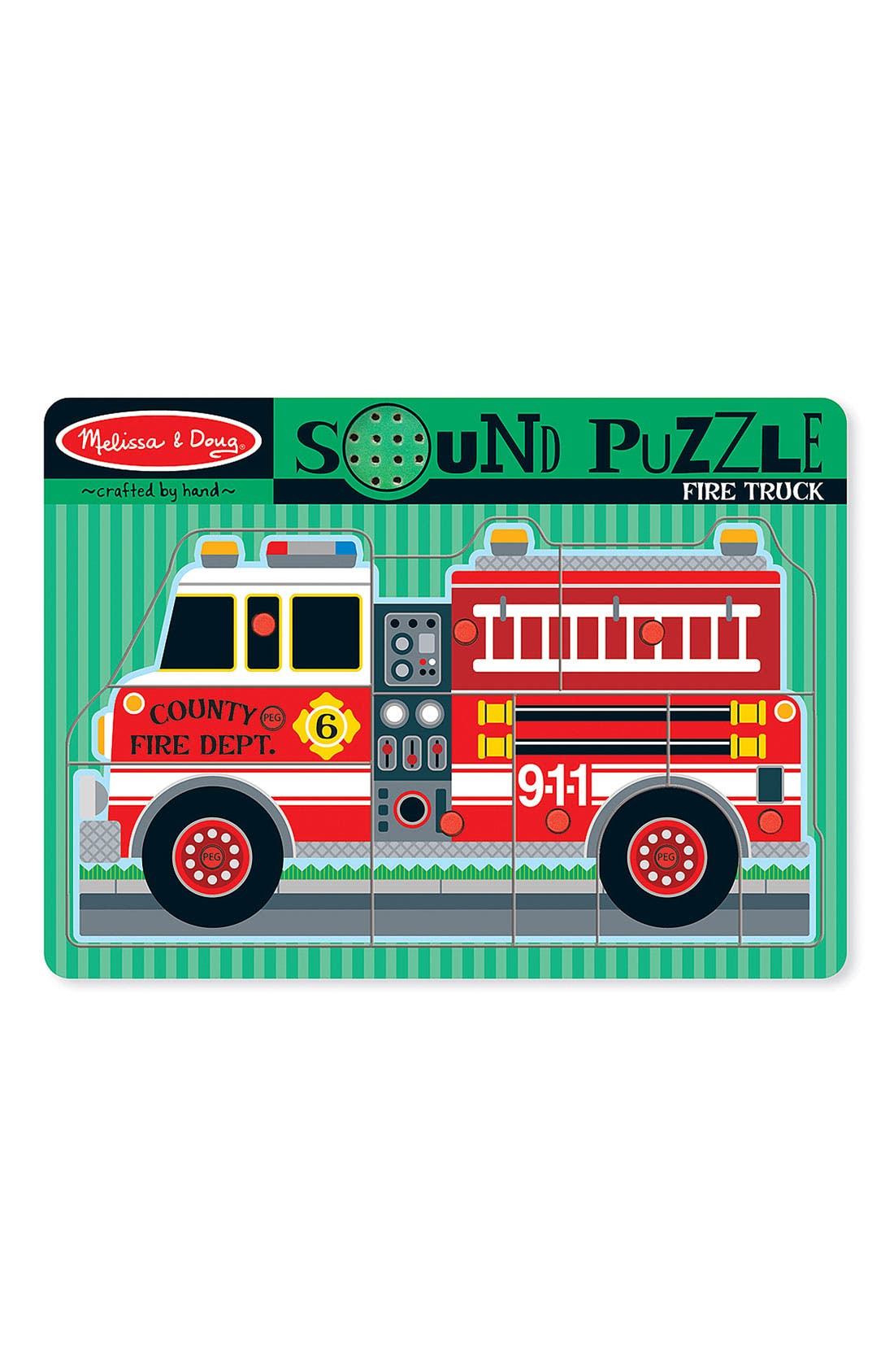 'Sound' Puzzle,                             Main thumbnail 1, color,                             Red Multi