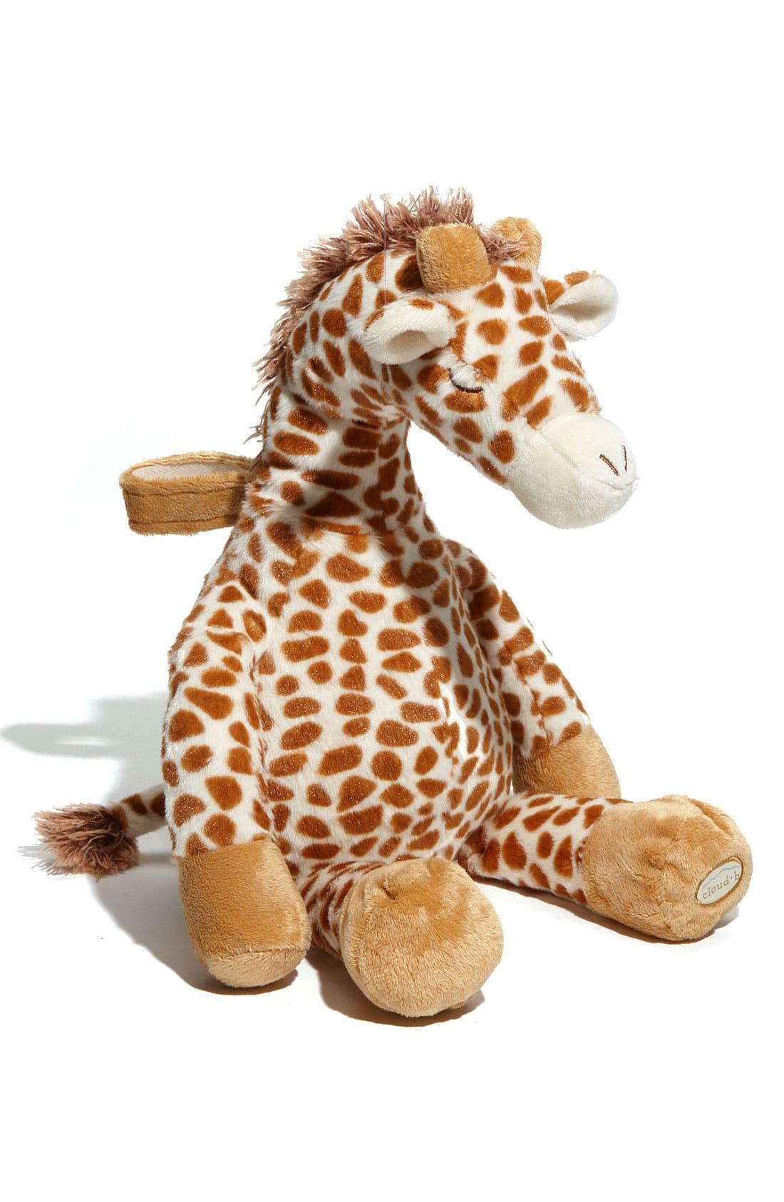 Alternate Image 1 Selected - Cloud B 'Gentle Giraffe' Stuffed Animal