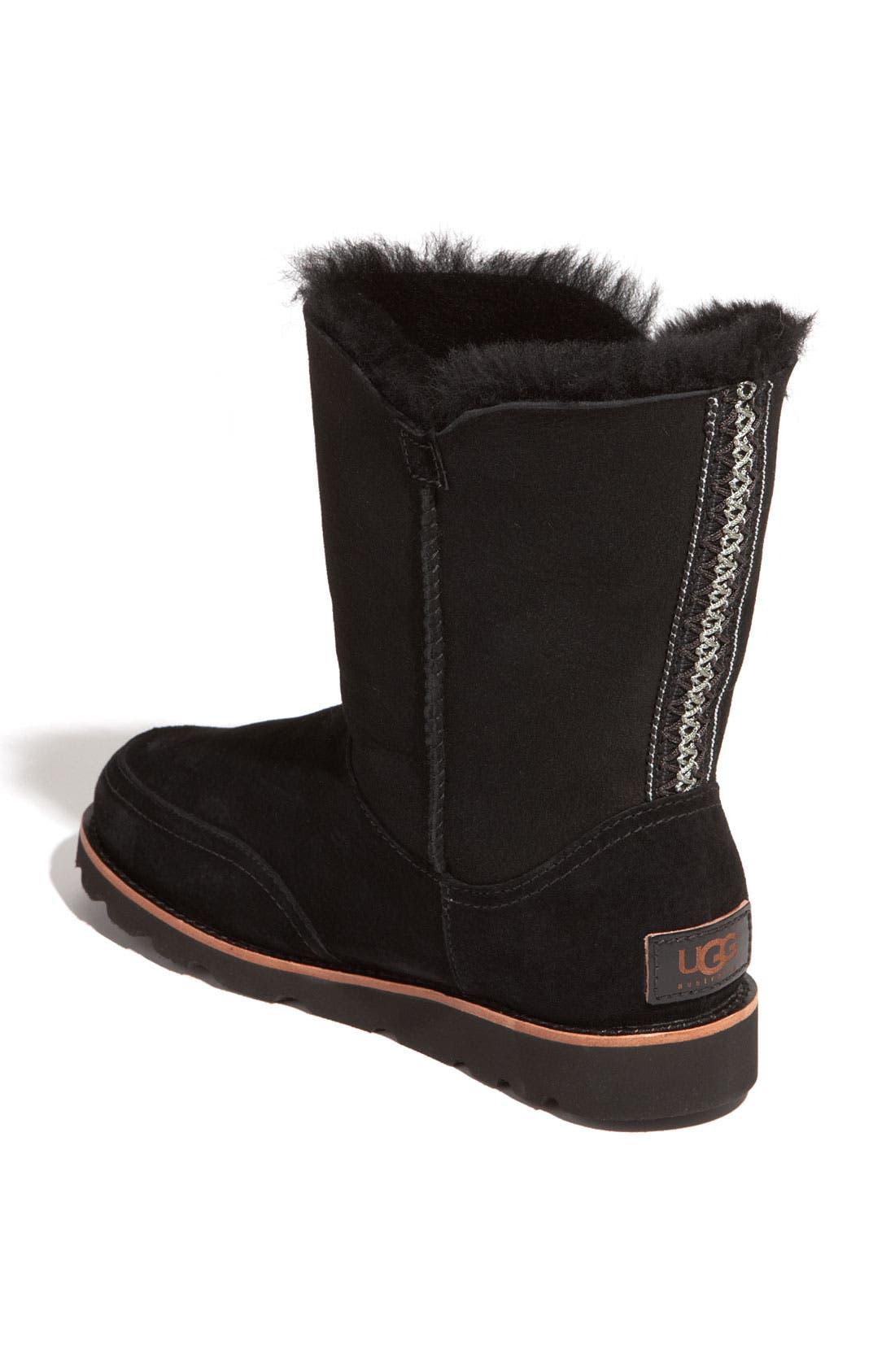 Australia 'Shanleigh' Boot,                             Alternate thumbnail 2, color,                             Black