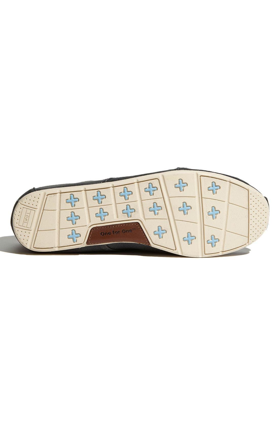 Alternate Image 4  - TOMS 'Cordones' Waxed Canvas Sneaker (Men)