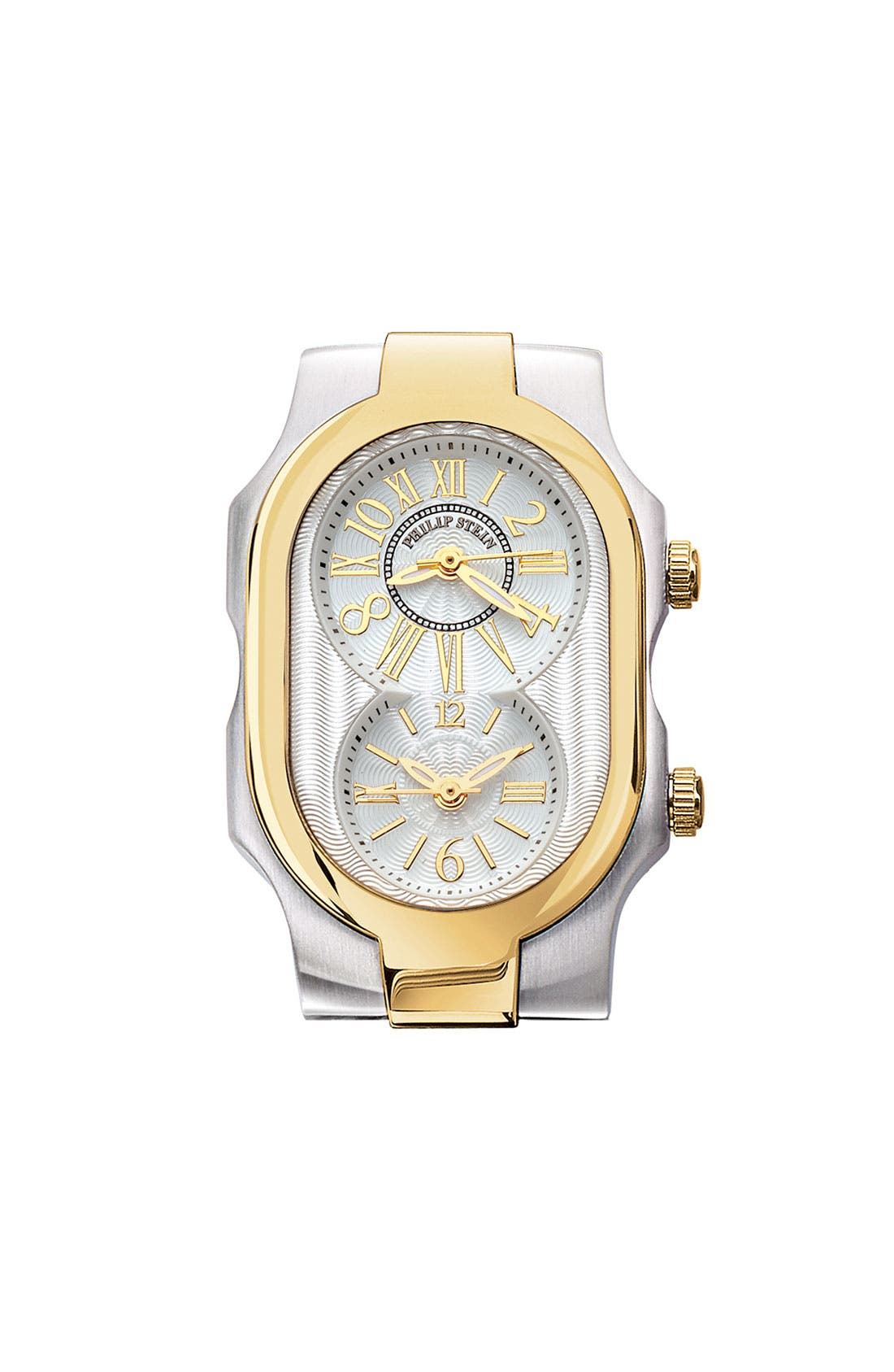 Alternate Image 1 Selected - Philip Stein® 'Signature' Small Two Tone Watch Case