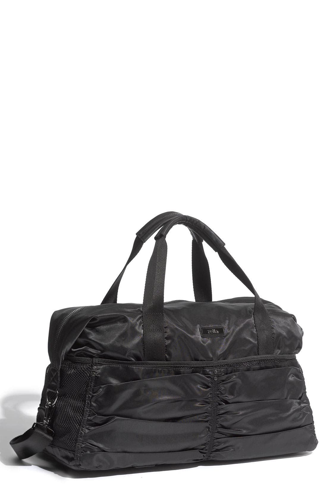 Alternate Image 1 Selected - Zella Gathered Duffel