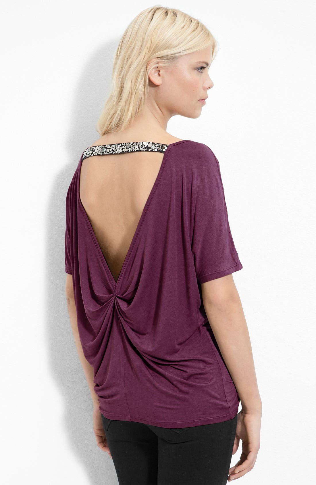 Alternate Image 1 Selected - Remain Drape Neck Top