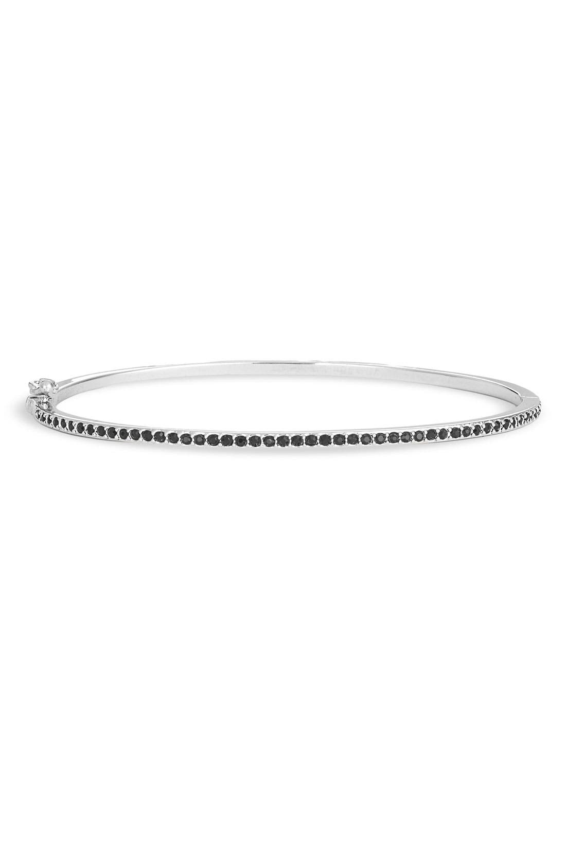 Alternate Image 1 Selected - Judith Jack Crystal Hinged Bangle