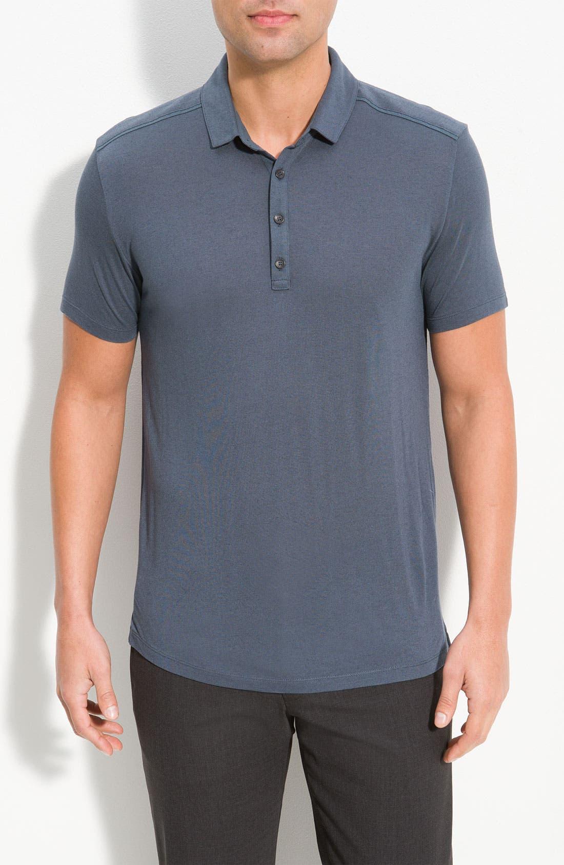 Alternate Image 1 Selected - HUGO 'Drody' Slim Fit Polo