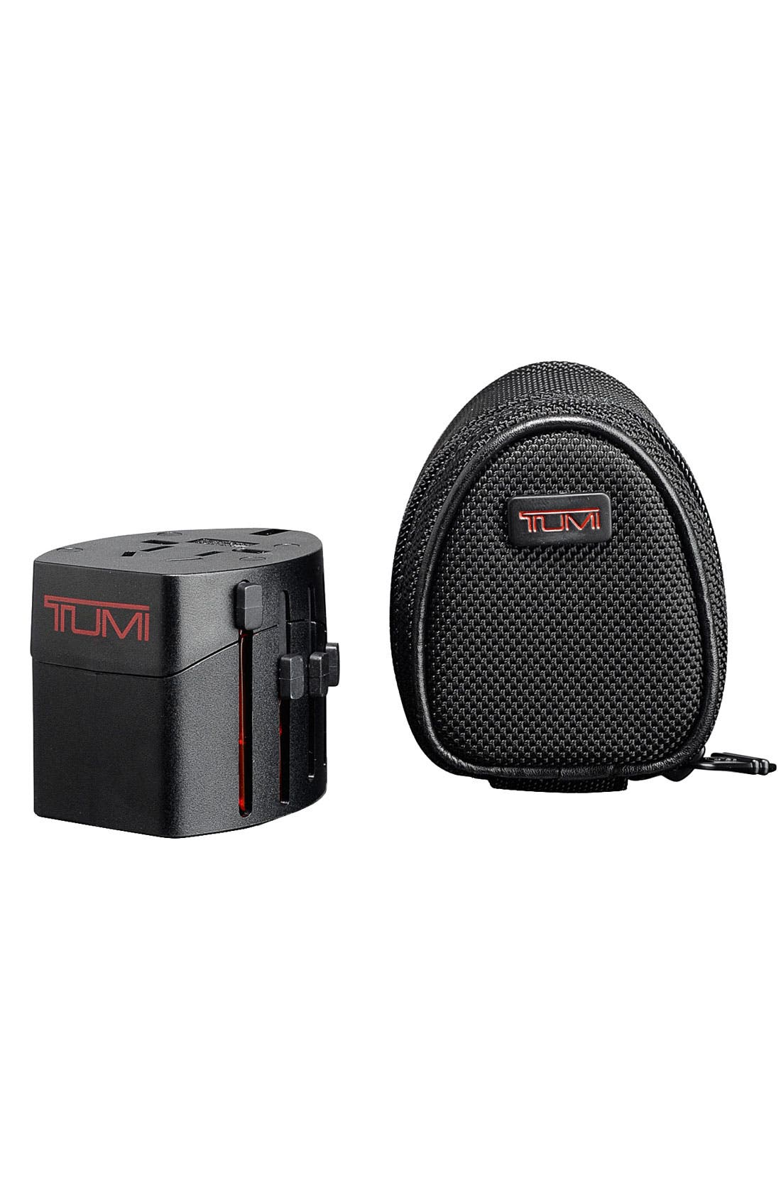 Alternate Image 1 Selected - Tumi Electric Adaptor with Ballistic Nylon Case