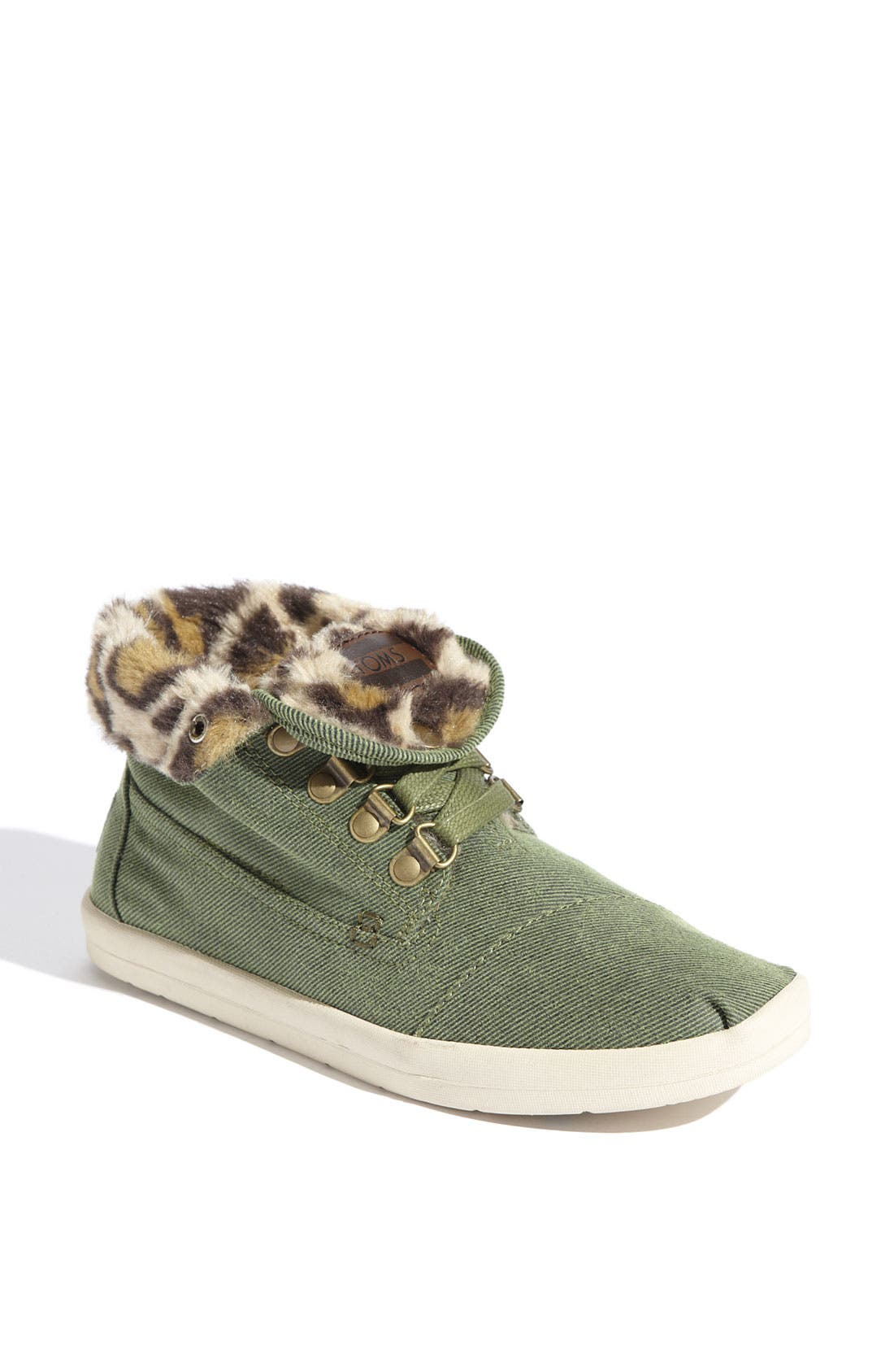Alternate Image 1 Selected - TOMS 'Botas - Highlands' Fleece Chukka Boot (Women)