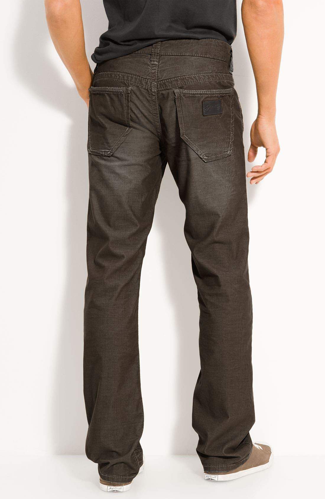 Alternate Image 1 Selected - Stitch's Jeans 'Texas' Straight Leg Corduroy Pants