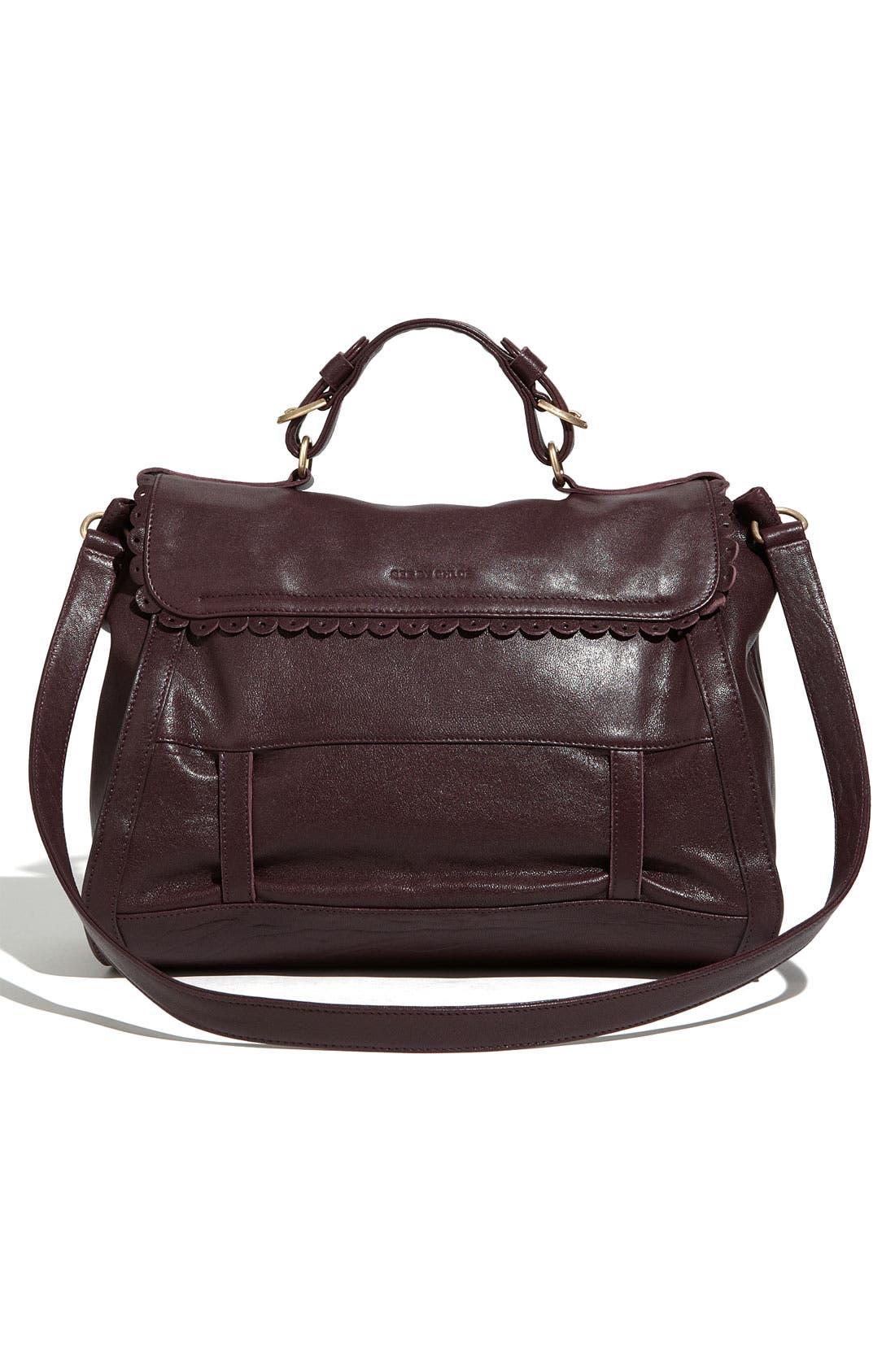 Alternate Image 4  - See By Chloé 'Poya Vintage - Large' Leather Satchel
