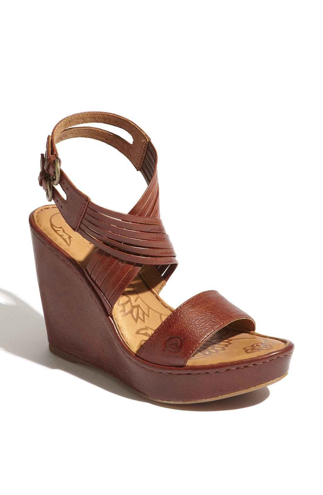 Alternate Image 1 Selected - Børn 'Eleni' Sandal