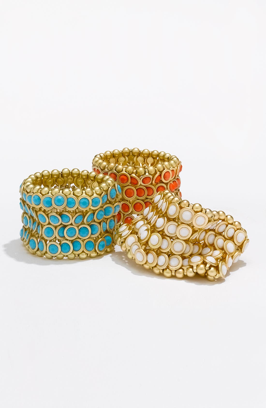 Alternate Image 2  - Tasha Bezel Set Stone Stretch Bracelet