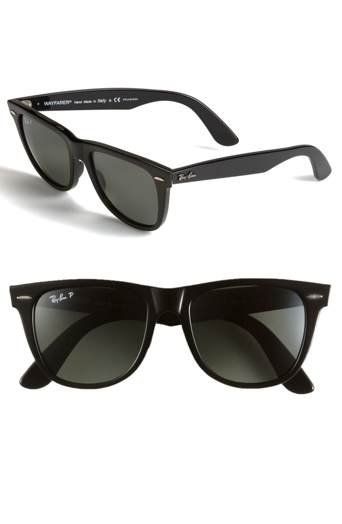 Main Image - Ray-Ban 'Classic Wayfarer' Polarized 54mm Sunglasses