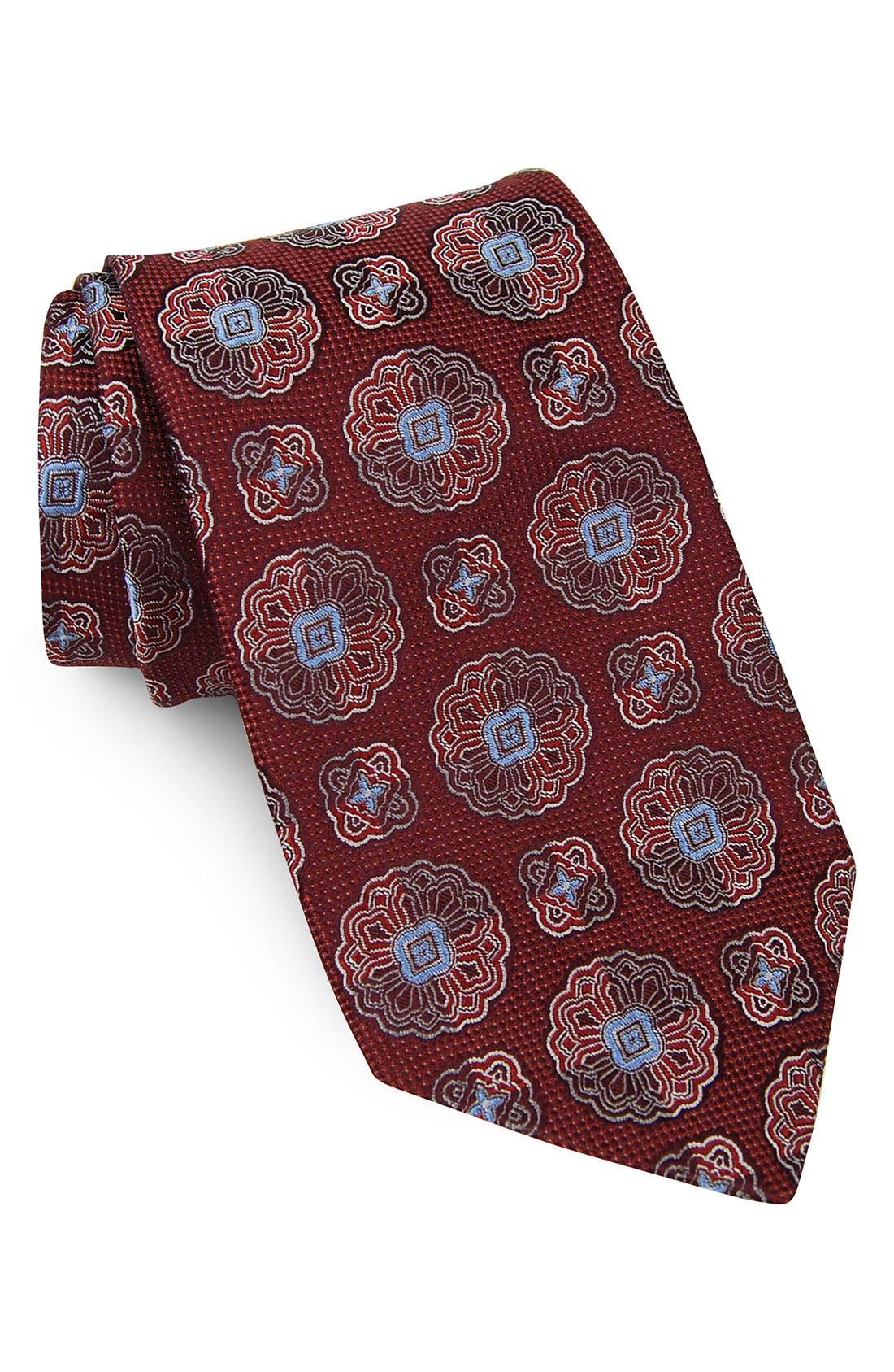 Main Image - John W. Nordstrom® 'Neat Peat' Woven Silk Tie