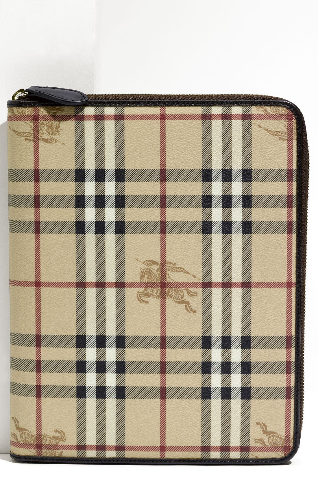 Main Image - Burberry 'Haymarket Check' Zip Around iPad 2 Case